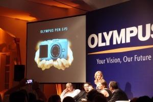 Olympus: presentazione nuove PEN