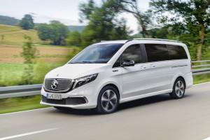 Mercedes-Benz svela EQV monovolume completamente elettrico con 400 km di autonomia