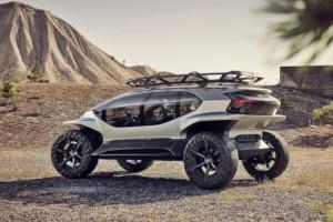 Audi svela la sua idea di fuoristrada elettrico: design accattivante e tanta tecnologia