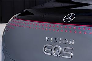 Mercedes Vision EQS: l'elettrica tedesca di lusso