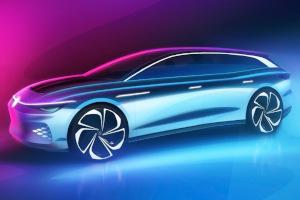 Volkswagen annuncia ID Space Vizzion Concept: una shooting brake elettrica