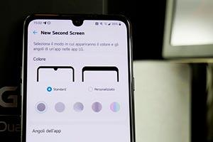 LG G8X Dual Screen: ecco l'interfaccia grafica