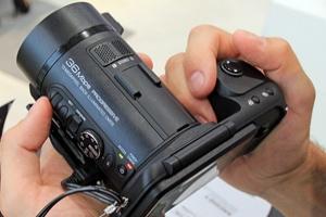 JVC GC-PX10: fotovideocamera veloce