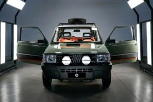 Pandina Jones, si chiama così l'ultimo progetto di Garage Italia su base della storica Panda 4x4