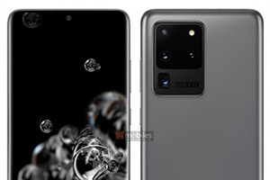 Samsung Galaxy S20, S20+ e S20 Ultra: render ufficiali leaked