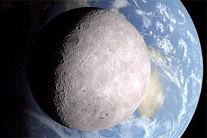 Lato nascosto della Luna: foto in alta definizione