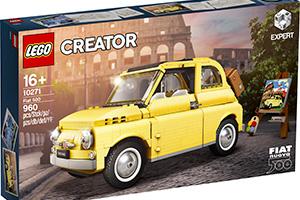 LEGO Creator Expert Fiat 500: ecco le immagini