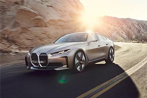 BMW Concept i4: immagini ufficiali