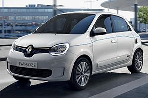 Renault Twingo Z.E., 100% elettrica