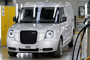LEVC VN5: il taxi di Londra diventa anche furgone elettrico