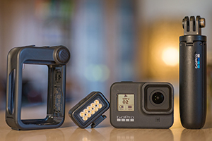 GoPro Hero 8 e accessori per Vlog