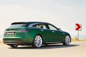 Una Tesla Model S station wagon? eccola!
