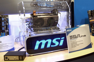 Schede madri MSI con chipset Intel X79 Express all'IDF