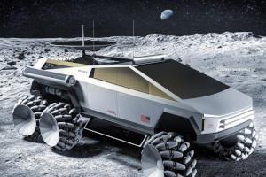 Tesla Cybertruck pronto per la luna?