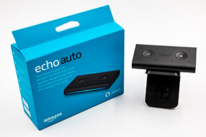 Amazon Echo Auto: ecco il design