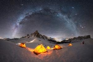Le migliori fotografie della Via Lattea
