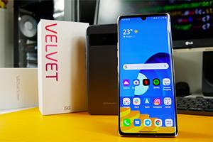 LG Velvet: ecco l'interfaccia LG UX con Android 10