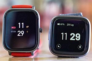 Amazfit GTS vs Fitbit Versa 2