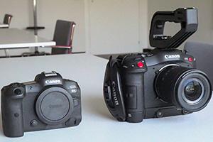 Canon EOS C70 e R5 a confronto