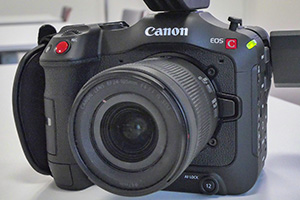 Canon EOS C70: cinepresa digitale mirrorless in salsa RF