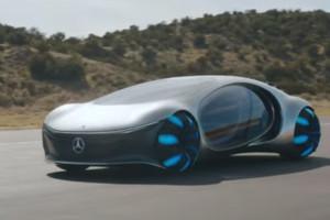 Mercedes-Benz presenta Vision AVTR: l'auto elettrica del futuro, funzionante già oggi