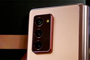Samsung Galaxy Z Fold2: come scatta le foto