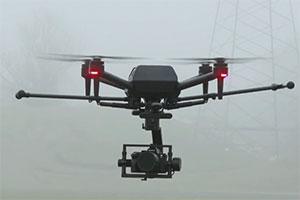 AirPeak: ecco alcune immagini del drone Sony