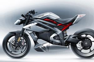 Triumph TE-1, concept della moto elettrica Made in England