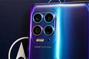 Motorola moto g100: ecco come scatta
