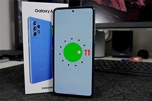 Samsung Galaxy A52: ecco la One UI 3.1