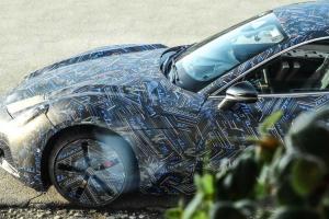 Maserati GranTurismo elettrica: prime immagini