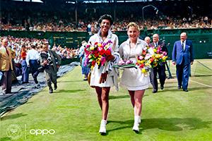 OPPO celebra Wimbledon ''resuscitando'' alcuni scatti iconici