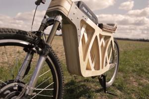 Electraply, e-bike con telaio in legno
