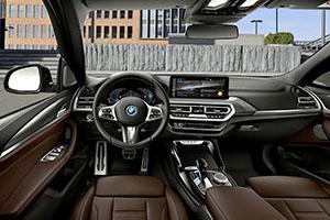 BMW iX3 nuovo facelift 2021