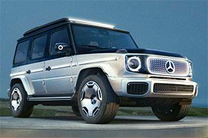 Mercedes EQG, la serie G diventa elettrica