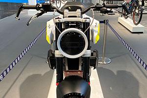 Debutto in pubblico per e-Pilen, la moto elettrica di Husqvarna