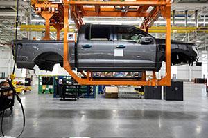 Pick-up elettrico Ford, parte la pre-produzione