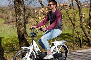 Ecco il Ciao Piaggio trasformato in e-bike