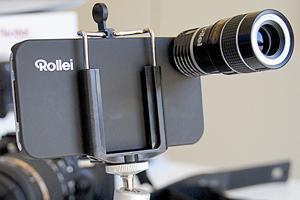 Ottica Rollei Tele 8x per iPhone 4: ecco le immagini