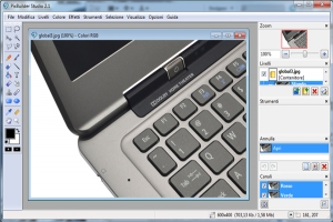 PixBuilder: software gratis per editing di immagini