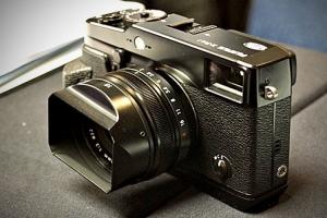 Fujifilm X-Pro1 dal vivo al CES 2012