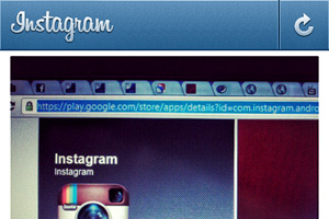 Instagram per Android: gli screenshot dell'app