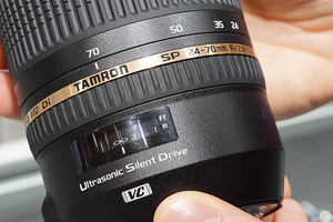 Tamron SP 24-70mm F/2.8 Di VC USD dal vivo al Photoshow 2012
