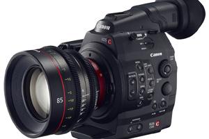 Cinepresa digitale Canon EOS C500 e nuove ottiche cinematografiche