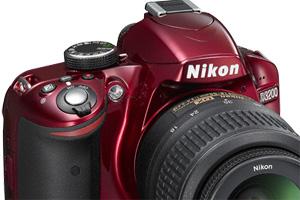 Nuova Nikon D3200: anche in livrea rossa