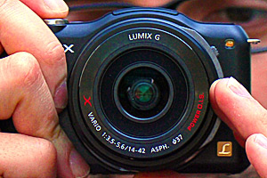 Panasonic Lumix GF5: Primo contatto - La macchina