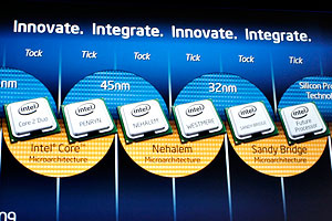 Intel Developer Forum 2009 - Keynote Sean Maloney e Bob Baker