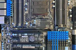 Le motherboard Gigabyte al Computex 2012