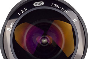 Samyang 8mm 1:2.8 UMC Fish-eye per Sony E-Mount e Samsung NX