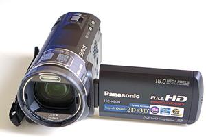 Panasonic HC-X800: qualità con una mancanza